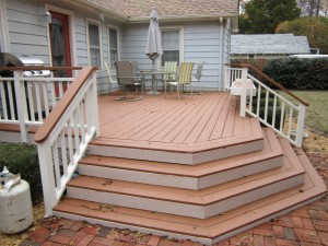Deck Built By Four Seasons