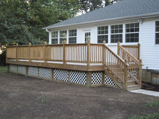 Deck Rejuvenation and ReBuild
